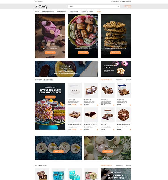 Food & Drink Templates